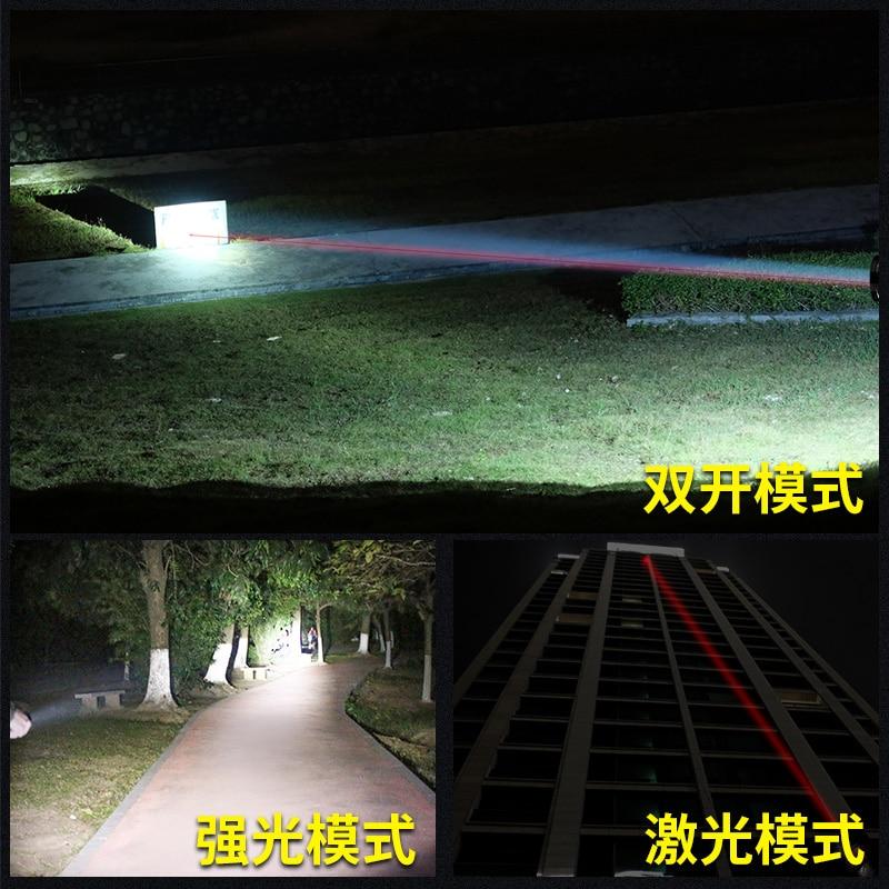 Outdoor Military Flashlight Portable Powerfu Tactical Waterproof Multifunction Flashlight Linterna Led Lighting Torches DB60SD enlarge