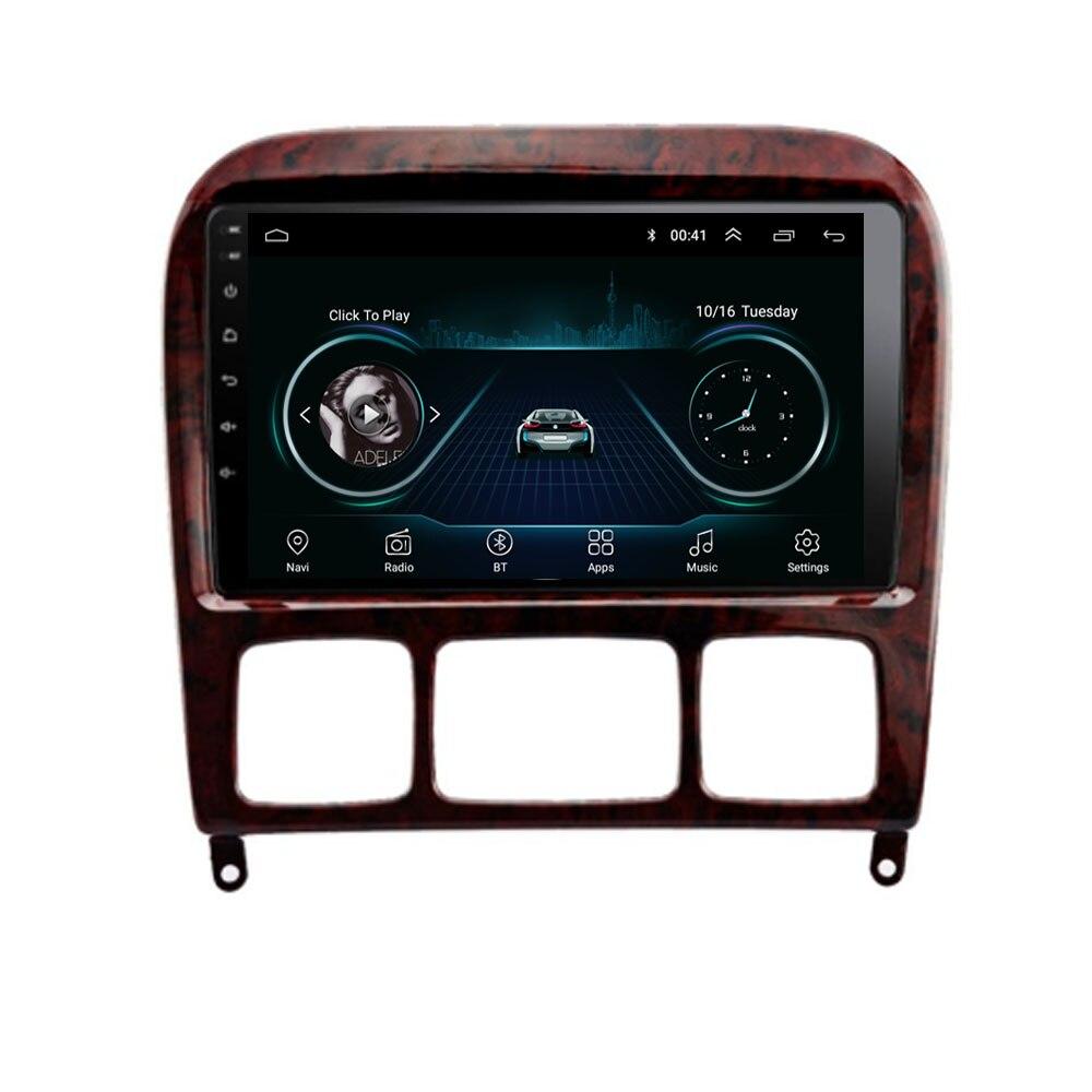 Android 10,1 para Mercedes Benz Clase S W220 S280 S320 S350 S400 S430 S500 S600 S55 AMG Multimedia estéreo de coche reproductor de Radio GPS