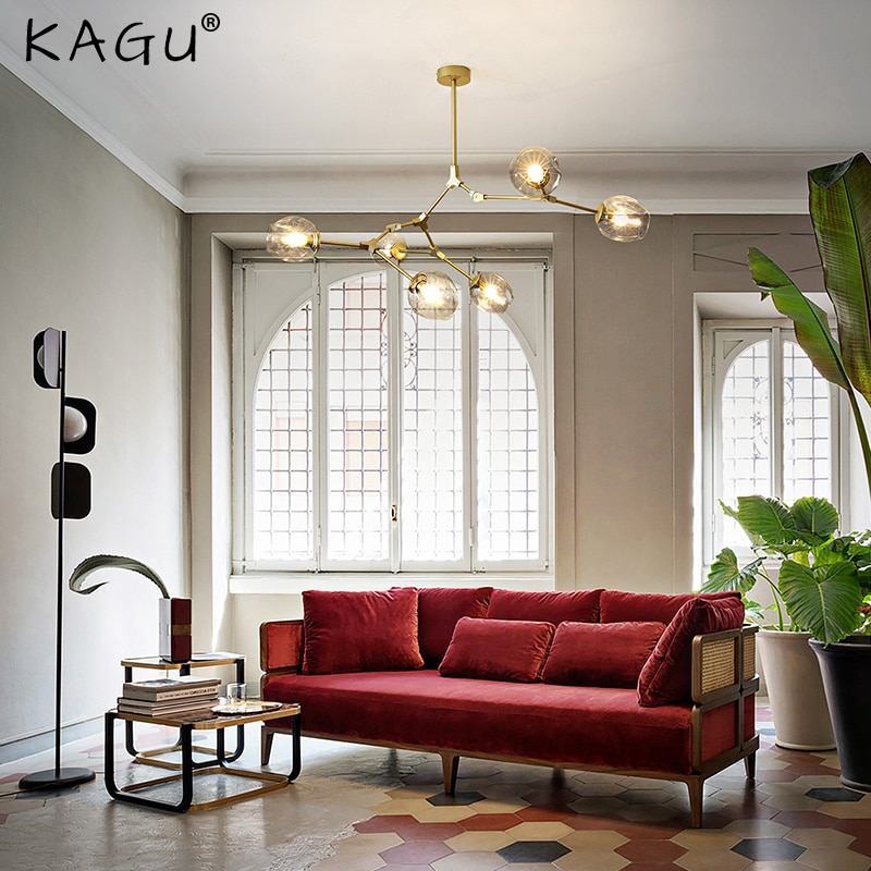 Современная светодиодная люстра, освещение для украшения гостиной, люстры для столовой, подвесные лампы, домашний декор, светильник для пом...