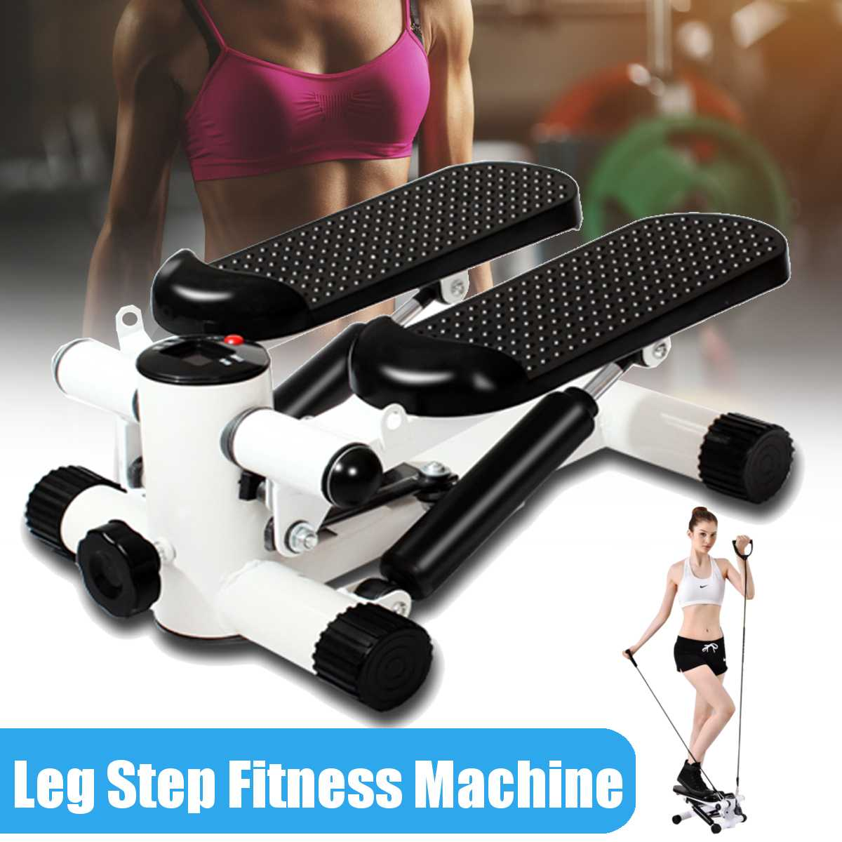 Steppers Running Machines Sports Multi-functional Mini Treadmills Equipped Quiet Home Lose Weight Pe