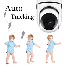 Baby Monitor IP Kamera Auto Tracking HD 1080p Hause Wifi Kamera Sicherheit Überwachung CCTV Kamera Kinder Begleiten Roboter