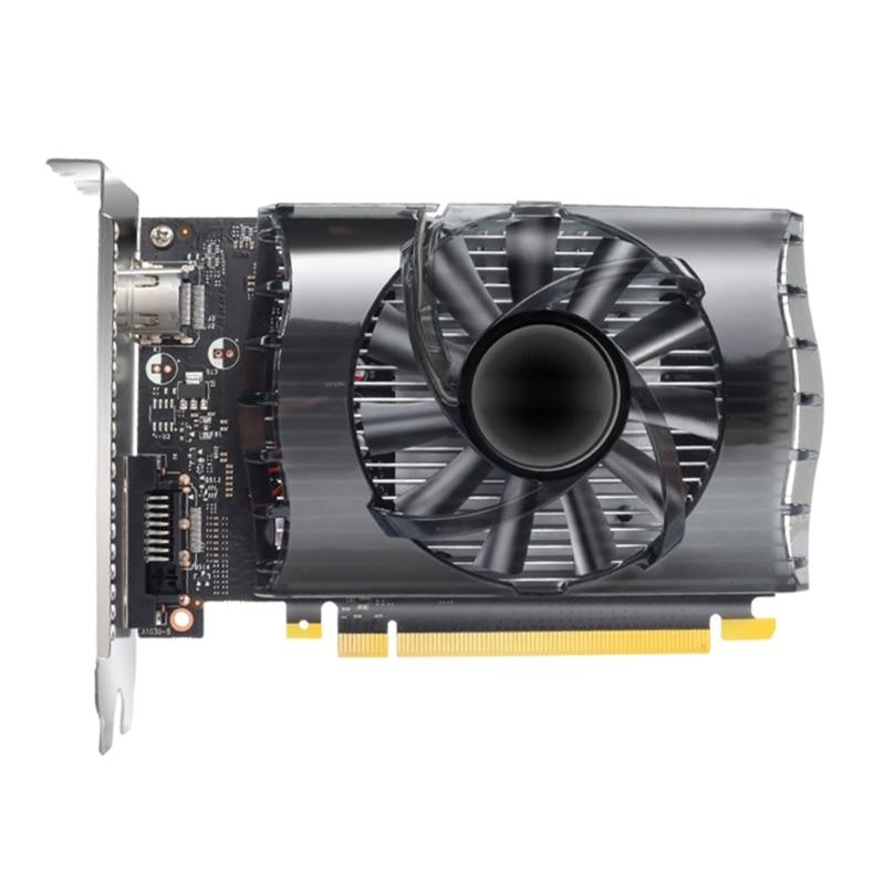 نفيديا GTX1030 2GB GDDR5 64 بت لأجهزة الكمبيوتر منخفضة الضوضاء سطح المكتب الألعاب بطاقة الفيديو المنفصلة مع مروحة تبريد واحدة للعبة