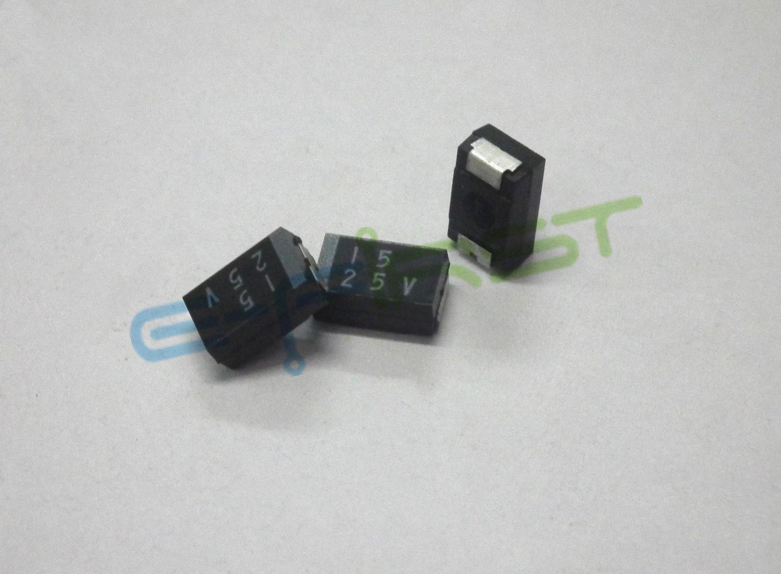 10 шт. 25 в 15 мкФ 1E156 ELNA SY2 1E156M RD0 SMD Танталовый конденсатор|Конденсаторы| |