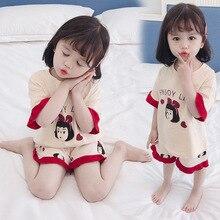 Bébé fille pyjamas ensembles enfants Pjs été robe de nuit pour enfants 1-6T enfants Pijama vêtements de nuit vêtements de nuit pour filles costumes de nuit pour les filles