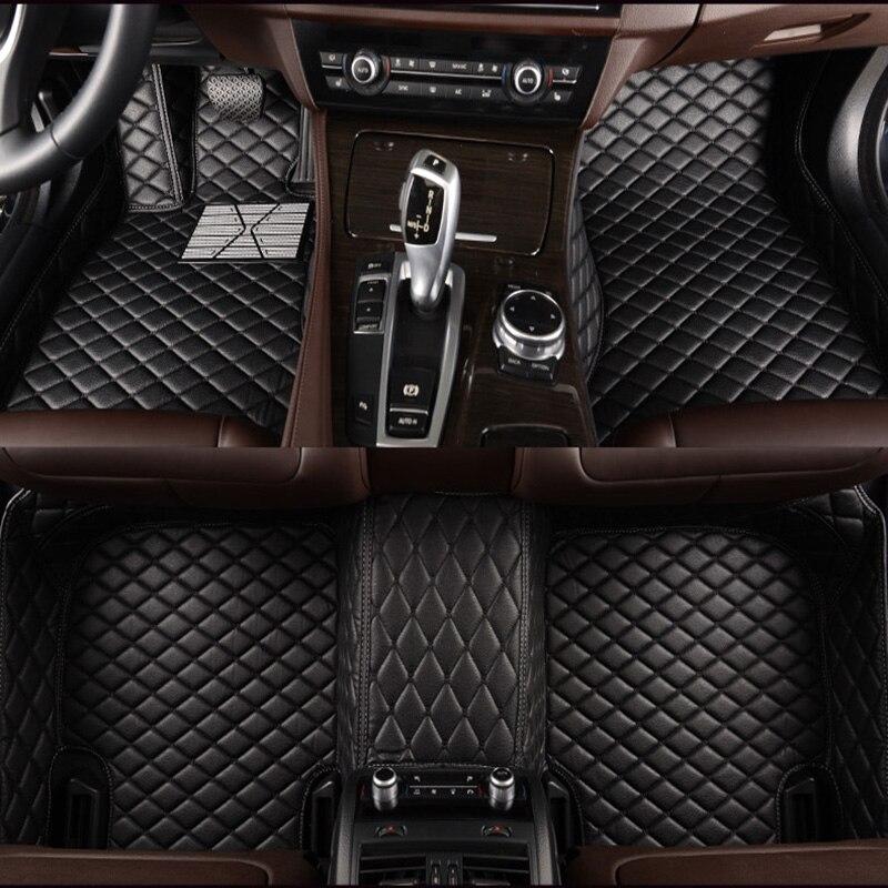 Coche personalizado alfombras de piso para Toyota camry modelo Corolla alphard prado...