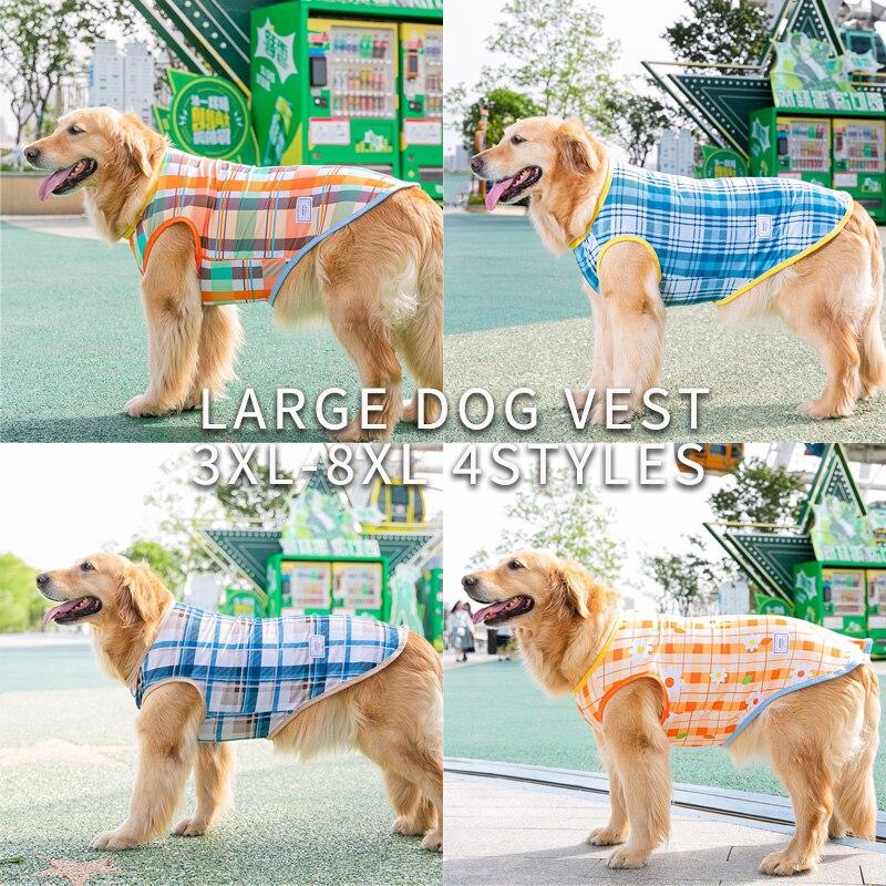 Traje para perros de verano gran perro prendas, chalecos delgada 8XL de...