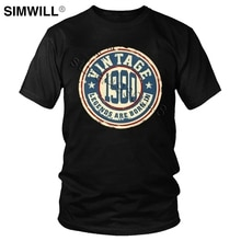 Vintage Legends rodzą się w 1980 T Shirt mężczyźni z krótkim rękawem bawełna 40 urodziny 40 lat T-Shirt 80s Old School rocznica Tee