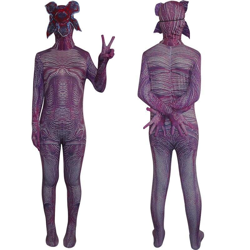 Костюм ужасов для мужчин и женщин на Хэллоуин, косплей, необычная история, Биохимический зомби, взрослый, демон, танец, Пожиратель цветов, костюм ужасов