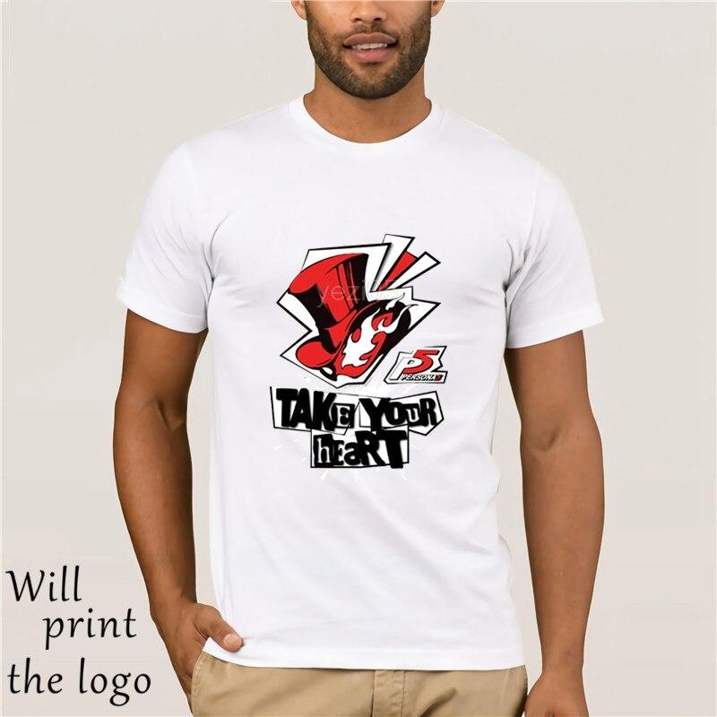 Novelty Men Persona 5 Awesome Joker T Shirt Classic Game Stylish Popular T-Shirt