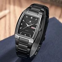 wwoor 2021 new quartz men full black watches luxury watch fashion sports relogio masculino date clock wrist watch relojes hombre