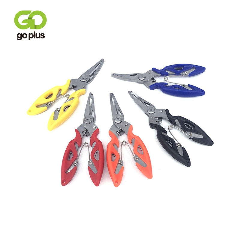 SMALL Fishing Plier Scissor Braid Line Lure Cutter Hook Remover etc. Tackle Tool Cutting Fish Use Tongs Multifunction Scissors