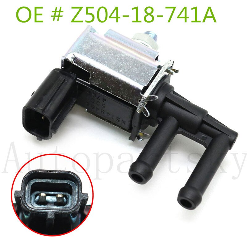 Válvula Solenóide K5T48279 Intake Manifold Para Mazda 626 6 RX-8 MX-5 Miata Protege MPV Protege5 911706 CP720 Z504-18-741A Z50418741