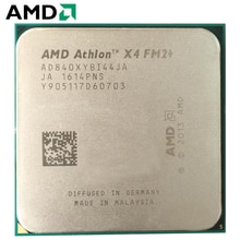 Processeur dunité centrale Quad-Core AMD Athlon X4 840 3.1GHz AD840XYBI44JA 65W Socket FM2 +