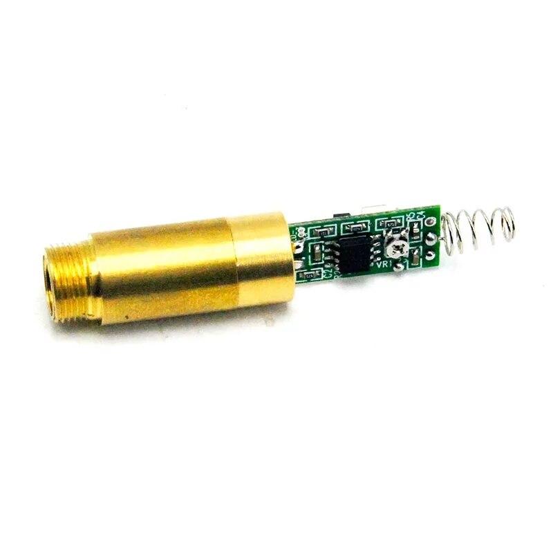 1 пара ПРОМЫШЛЕННЫЙ 532 нм 5-10 мВт 3,7 В зеленый лазер точка модуль диод w драйвер% 26 пружины