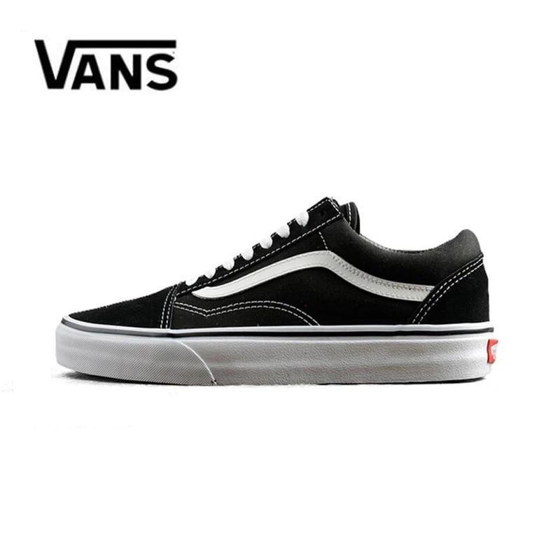 Vans-zapatillas de lona para hombres, calzado de deporte de color Negro para...
