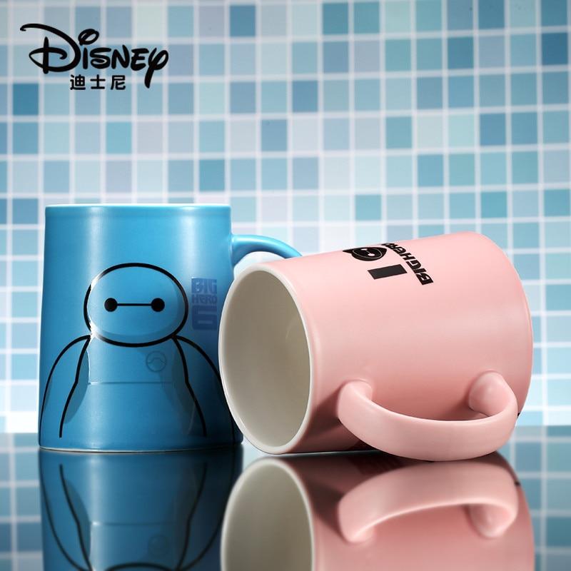 350ml Disney Big Hero de agua taza de café té de la leche desayuno Taza de cerámica Oficina colección taza Festival regalo