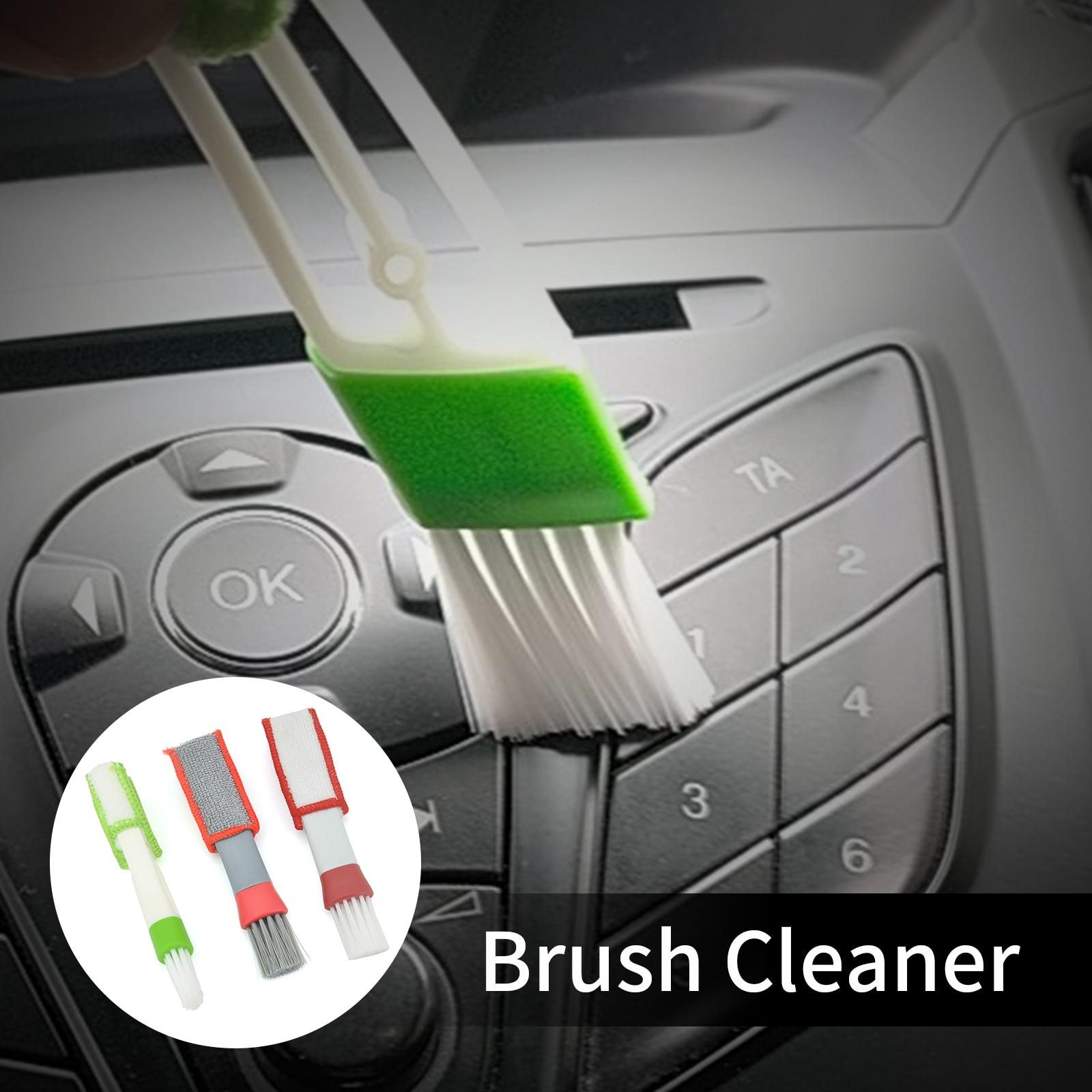 Щетка для вентиляционного отверстия автомобильного кондиционера, очиститель решетки из микрофибры, детали, щетка для штор, щетка для тюнин...