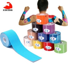 KoKossi 1PCS Medical Bandage Muscle Sports Tape Sports Elastic Roll Adhesive Muscle Bandage Pain Car