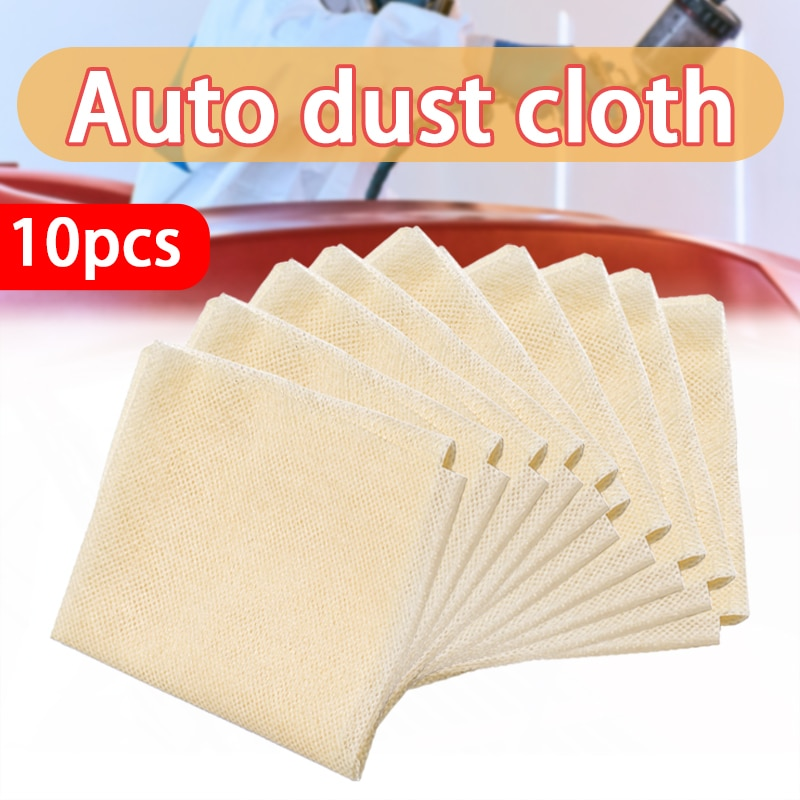 10Pcs 35x22cm Tack Cloth Rags Sticky Paint Body Shop Resin Lint Dust Automotive Paint Sticky Cloth Dust Cloth Cleaning Cloths
