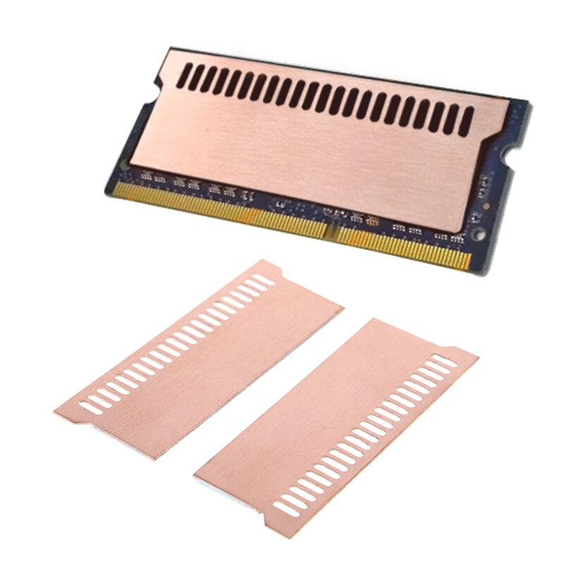 Pure Copper Notebook Gaming Laptop Memory Heatsink Cooling Vest 0.5mm Radiator