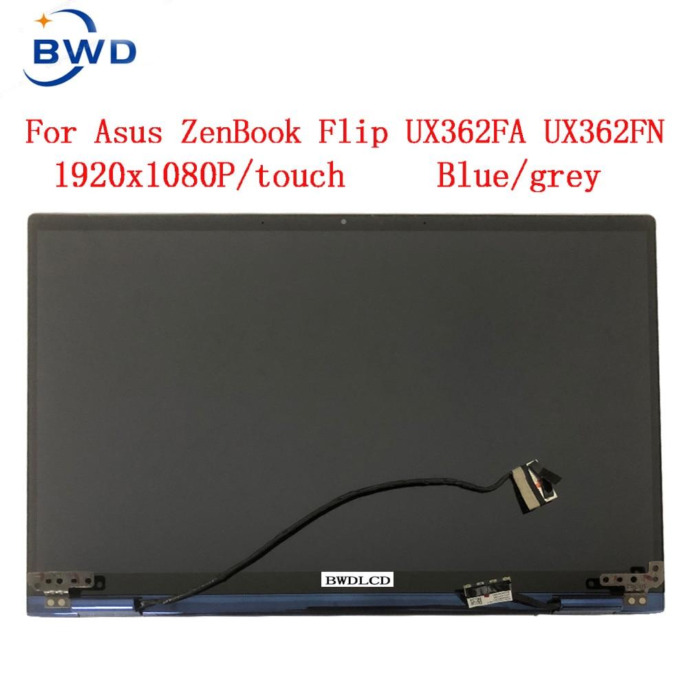 الأصلي 13.3 بوصة LCD لوحة شاشة تعمل باللمس استبدال ل Asus ZenBook الوجه UX362 UX362FA UX362FN الجزء العلوي