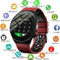 gejian bluetooth call smart watch men 8g memory card music player smartwatch for xiaomi huawei phone waterproof fitness watches
