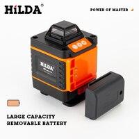 Лазерный уровень HILDA на 16 линий