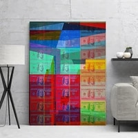 hd print modern canvas painting abstract money pictures wall art modular nordic style home decor fashion frame poster for gift