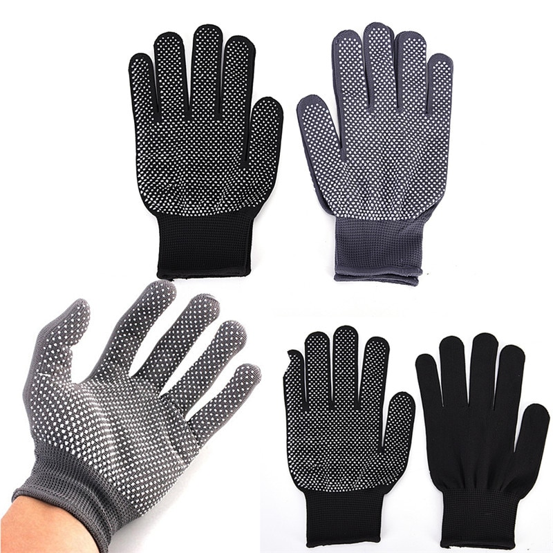 Heat Resistant Finger Glove Protective Glove For Hair Straightener Perm Curling Flat Iron Hairdressi