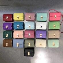 Top quality genuine leather handbags Luxury genuine leather ladies shoulder bags Brand ladies messen