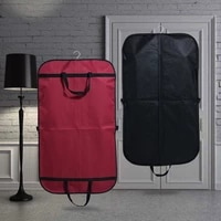 men waterproof suit storage dust cover wardrobe hanging bag home dress jacket protection clothes organizer case accessories item