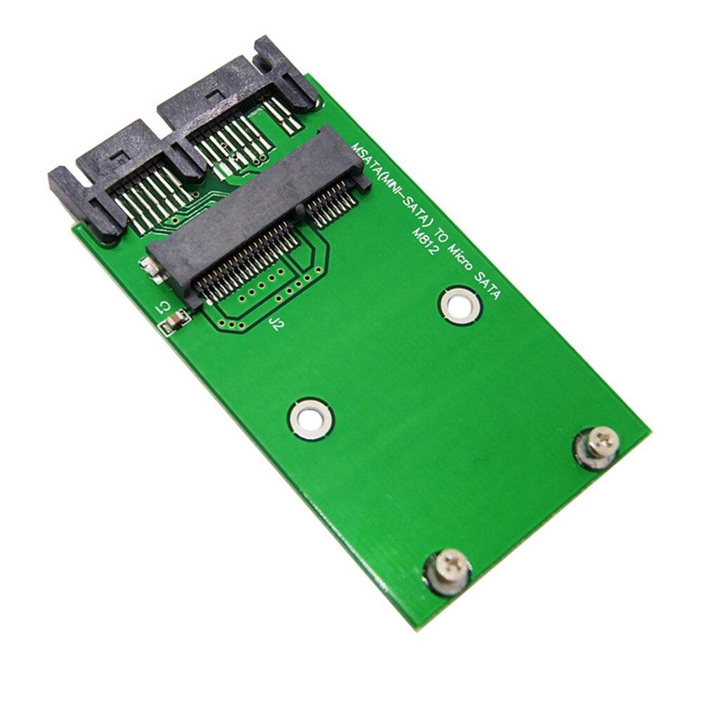 """Computador mini prático estável fácil instalar adaptador cartão eletrônico acessórios de substituição ssd para 1.8 """"micro conversor sata"""