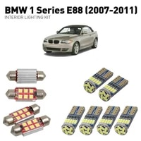 led interior lights for bmw 1 series e88 2007 2011 11pc led lights for cars lighting kit automotive bulbs canbus error free
