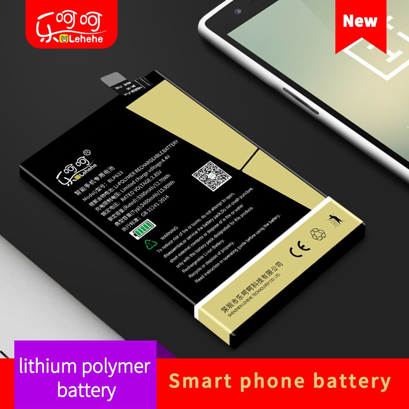 LEHEH BLP571 BLP597 BLP613 BLP633 BLP637 battery for One Plus 5 5T 3 3T 2 1 High quality lithium ion polymer replacement battery недорого