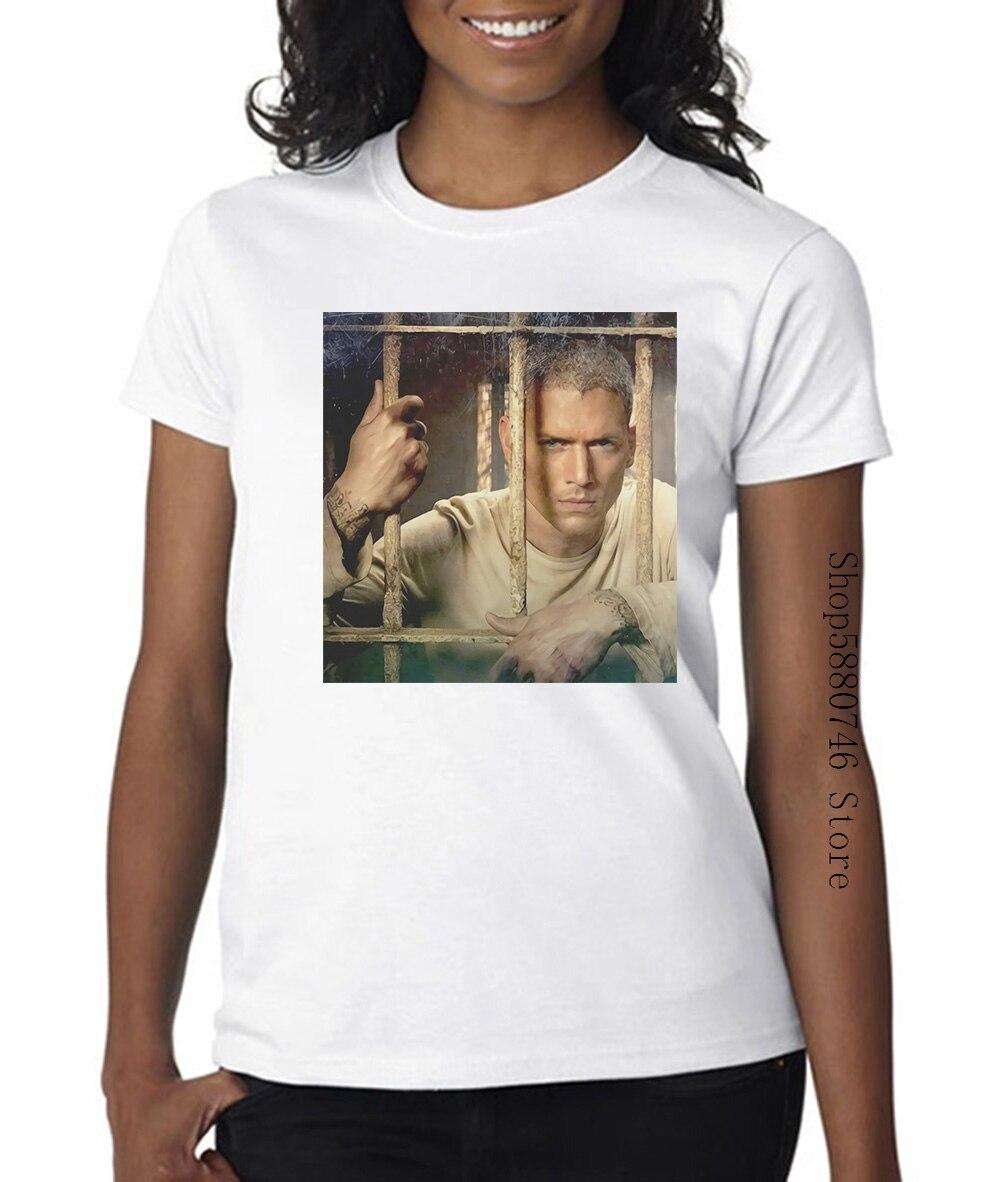 Prisión Michael Scofield serie de Tv del río Fox hombres mujeres Unisex T Shirt 578
