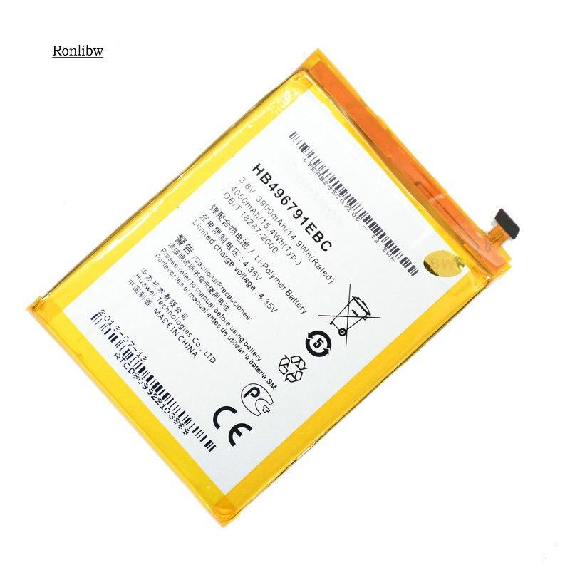 Ronlibw 3900 mah hb496791ebc bateria de substituição para huawei companheiro 1 ascend MT1-U06 MT2-L02 MT2-L05 telefone móvel
