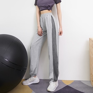 Binding feet sports pants women 2021 new loose and thin harem pants tide ins outdoor casual pants summer thin