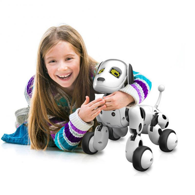 RC Walking Robot Dog 2.4G Wireless Remote Control Smart Dog Electronic Pet Toy Educational Children'