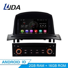 LJDA Android 10,0 Auto DVD Player Für Megane Fluence 2002-2008 Auto Multimedia-Player GPS Navigation WIFI 1 Din auto Radio Stereo