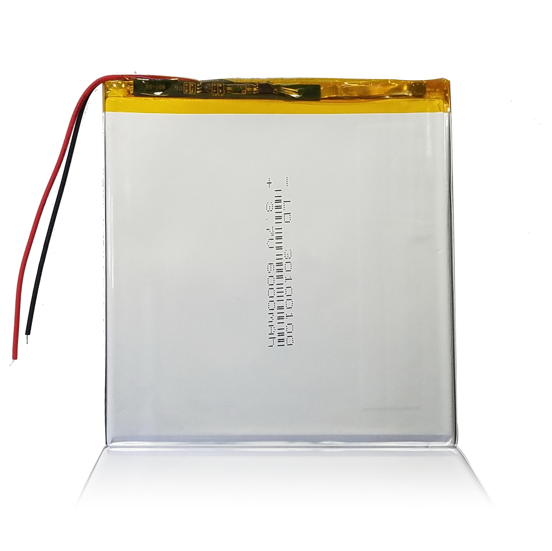 30100100 de 3,7 V 6000mAh batería recargable de Li-batería de polímero de iones de litio para Irbis TZ961... TZ-961 TZ962... TZ-962 TZ963... TZ-963 TZ964... TZ-964