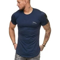 jaguar car 2021 summer new mens stand up collar short sleeved personality solid color design breathable mens t shirt top2