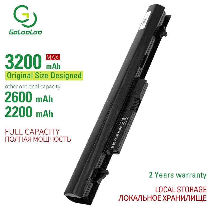 Golooloo 14,8 V batería de ordenador portátil para HP 240 G2 OA04 OA03 HSTNN-LB5S 740715-001 TPN-F113 TPN-F115 CQ14 CQ15 4 celdas 3200mAh