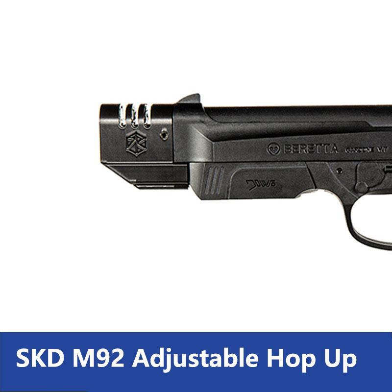 SKD ZHENDUO M92 90TWO Hop Up Brinquedo Beretta arma acessórios