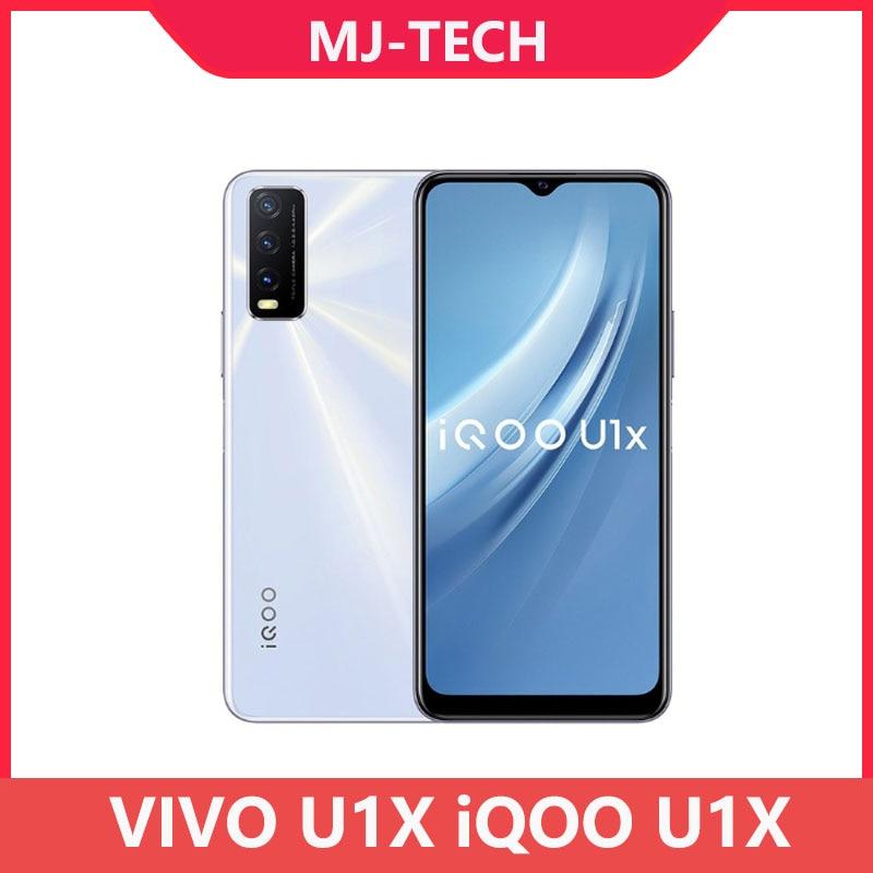 "Vivo iqoo u1x 4g/6g 64g android 10 telefone móvel snapdragon 662 octa núcleo 5000mah bateria 18w carga rápida 6.51 ""ips 13mp"