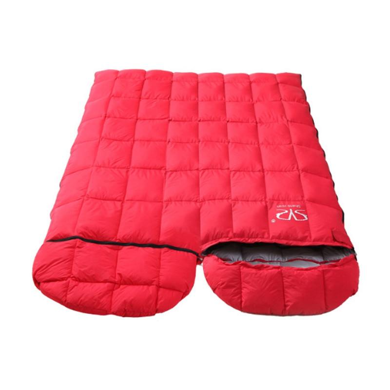 Winter camping sleeping bag travel warm down sleeping bag outdoor camping can be stitched sleeping bag