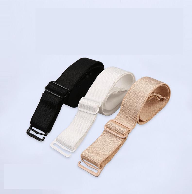 1cm 1.2cm 1.5cm 2cm Underwear Shoulder Strap Women Bra Transparent Invisible Bra Straps Basic Color Skin White Black