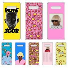 Tyler the creator Golf IGOR bees Transparent Phone Case For SamSung Galaxy S 7 8 9 10 11 20 a 20e 50 51 70 71 Plus Edge Ultra