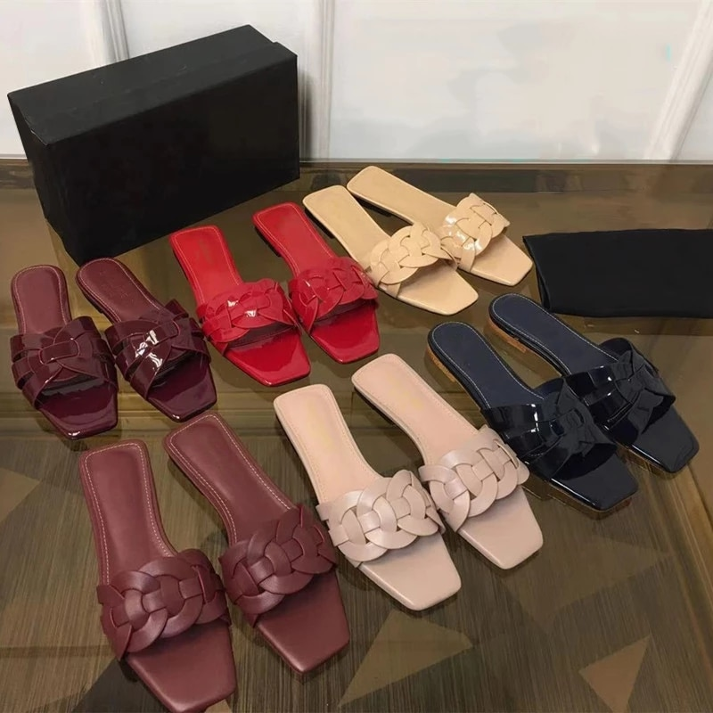 women flat slippers women's summer wear women's shoes sandals large size 34-41 high quality women shoes
