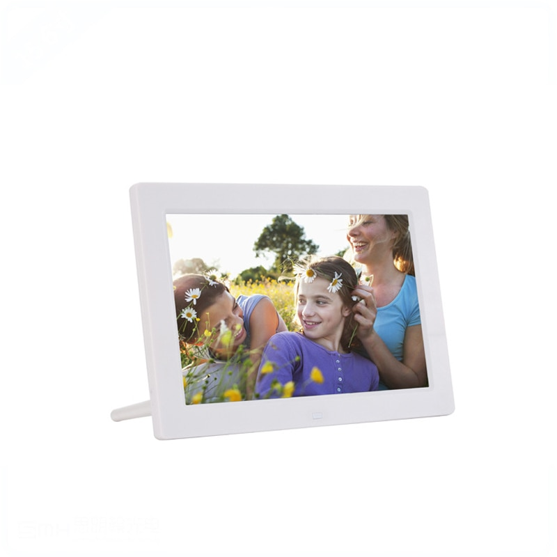 10 дюймовый цифровой фотоальбом рамка настенный Настольный HD Тонкий Проводной