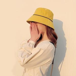 Spring and summer new fisherman hat ladies hat Korean casual wild bucket hat sunscreen sun hat